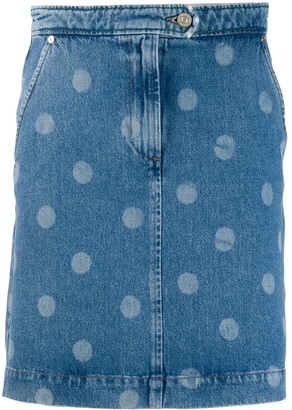 Paul Smith Polka-Dot Mini Skirt