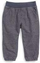 Tea Collection Infant Boy's Denim Look Pants