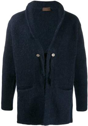 Altea shawl collar knitted cardigan