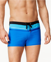 Speedo Men's Colorblocked Square-Leg Swim Trunks