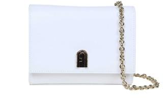 Furla 1927 Mini Shoulder Bag In White Leather