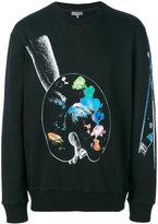 Lanvin Palette print sweatshirt - men - Cotton - S