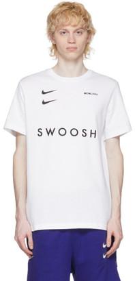 Nike White Sportswear Swoosh T-Shirt