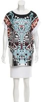 Just Cavalli Printed Oversize Top