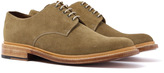 Grenson Finlay Tabacco Suede Derby Shoes