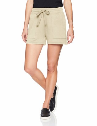 Daily Ritual Amazon Brand Women's Supersoft Terry Patch-Pocket Short