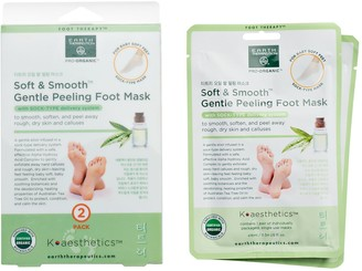 Earth Therapeutics Soft & Smooth Gentle Peeling Foot Mask