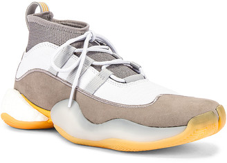adidas x Bed J.W. Ford Crazy BYW Sneaker in Grey & White | FWRD