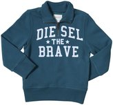Diesel Sippy Half-Zip Sweat-Shirt (Kid) - Spruce-4