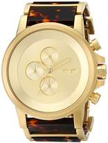 Vestal Men's PLA022 Plexi Acetate Analog Display Japanese Quartz Gold Watch
