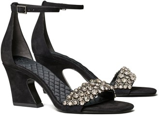 Tory Burch Crystal High-Heel Sandal