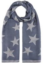 Stella McCartney Silk-blend scarf