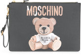 Moschino Teddy Bear Print Pouch