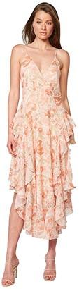 Bardot Rochelle Flutter Dress (Retro) Women's Dress
