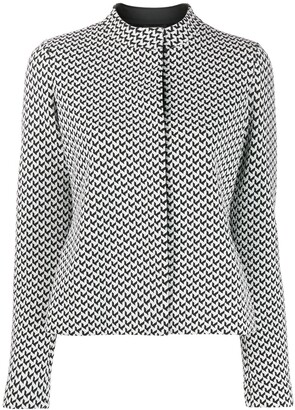 Emporio Armani Geometric Pattern Top