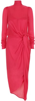 Zimmermann Drape Long Sleeve Dress