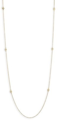 Hearts On Fire Optima Diamond & 18K Yellow Gold Station Necklace