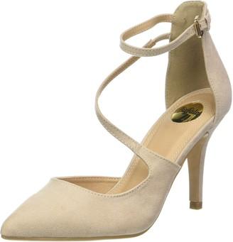 Buffalo David Bitton 315349 Bhwmd Imi Suede Womens Ankle Strap Sandals