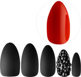 Static Nails All In One Pop-On Manicure Kit: Red Bottoms