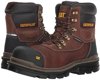 Caterpillar Adhesion Ice+ 6 WP TX CT (Oak) Men's Work Boots