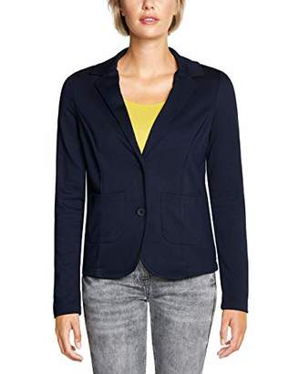 Cecil Women's 252880 Suit Jacket, (Deep Blue 108), 16 (Size: Large)