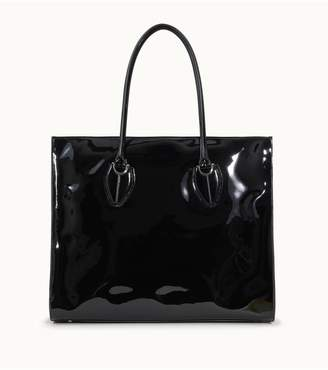 Tod's Tods Shopping Bag Large In Patent Leather