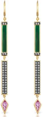 Sorellina Diamond Stick Earrings