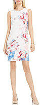 Vince Camuto Sleeveless Poetic Bouquet Shift Dress