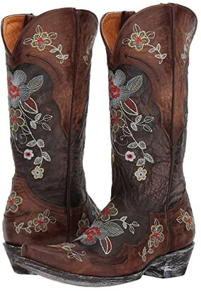 Old Gringo Bonnie 13 Relaxed Fit (Chocolate/Brass) Cowboy Boots