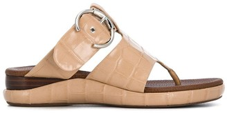 Chloé Buckled Thong Sandals