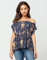 Free People Sam Off The Shoulder Womens Top