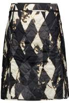 Tomas Maier Printed Quilted Shell Skirt
