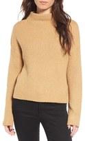 BP Women's Fuzzy Funnel Neck Sweater