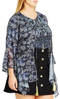 City Chic Plus Size Women's Dreamy Deco Jacket