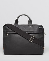 Jack Spade Mason Leather Slim Briefcase