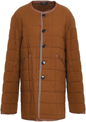 Joseph Quilted Cotton Down Jacket