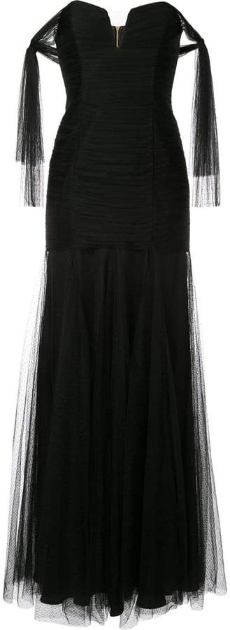 Alice McCall Good Vibes strapless gown
