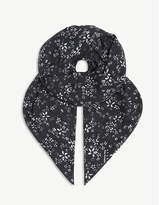 The Kooples Floral-print modal-blend scarf