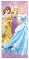 Disney Princess Damask Beach/Bath/Pool Cotton Towel