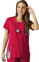 Jockey scrubs solid top - women's