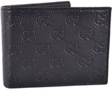 Gucci 278596 Men's Leather GG Guccissima Monogram Bifold Wallet