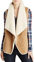 Velvet by Graham & Spencer Women's Faux Sherpa Vest