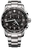 Victorinox Chrono Classic 241650 Stainless Steel Quartz 45mm Mens Watch