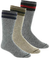 Wigwam American Wool Boot 3-Pack Socks