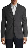 John Varvatos LX Soft Checkered Peak Lapel Sportcoat
