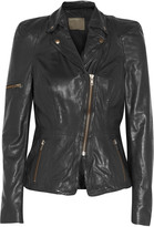 Muu Baa Muubaa Lyra leather biker jacket