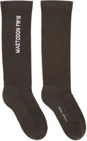 Rick Owens Grey Mastodon Socks
