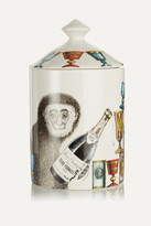 Fornasetti Scimmie Scented Candle, 300g - Colorless