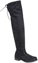 Bamboo Black Iconic Over-the-Knee Boot