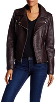 French Connection Textured Faux Leather Jacket